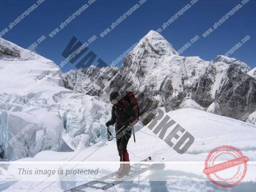 The Top of The Khumbu Icefall