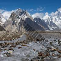 Gondogoro Peak and K2 Base Camp