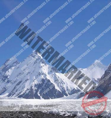 K2 Base Camp and Kharut Pyramid