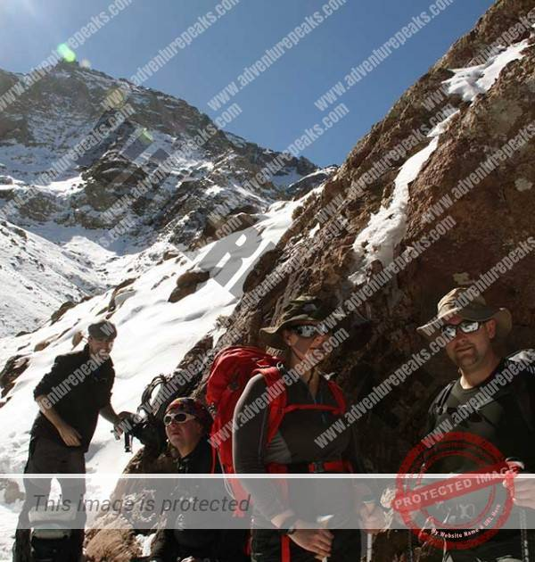 Winter Mountaineering morocco15