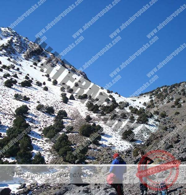 Winter Mountaineering morocco17