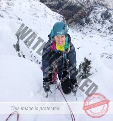 snow and ice climbing improvers