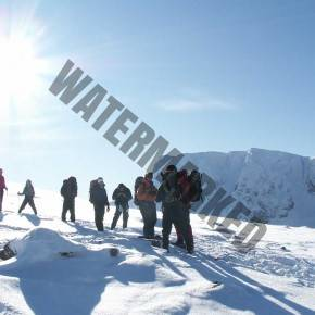 Winter Wild Camping Journey training