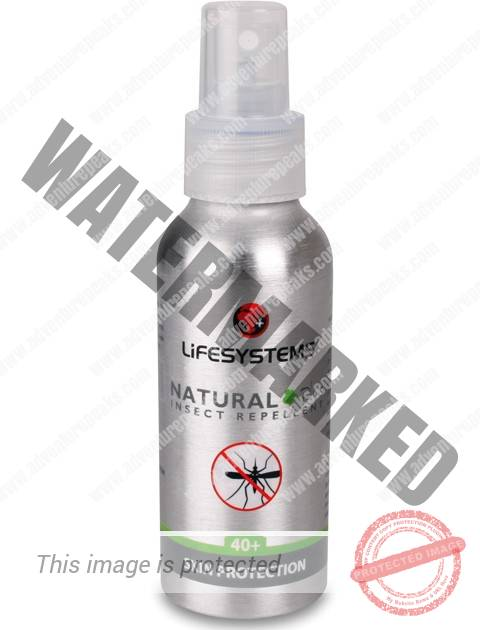 Lifesystems Natural PLUS 40+ Spray