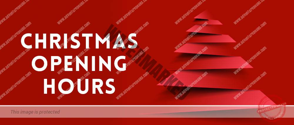 Christmas Hours.Christmas Opening Times Adventure Peaks