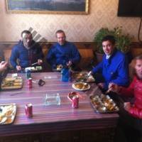 Lunch in Tingri on way to Lhasa
