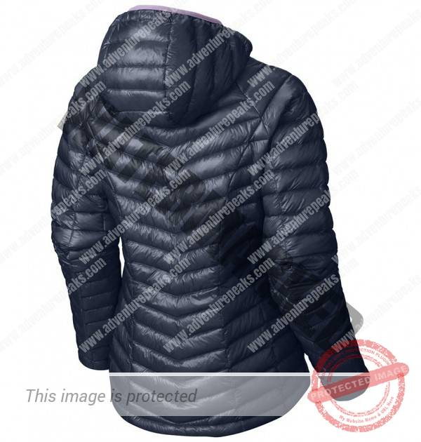 Womens super ghost whisperer jacket in zinc
