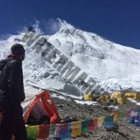Andy T at ABC with Everest above
