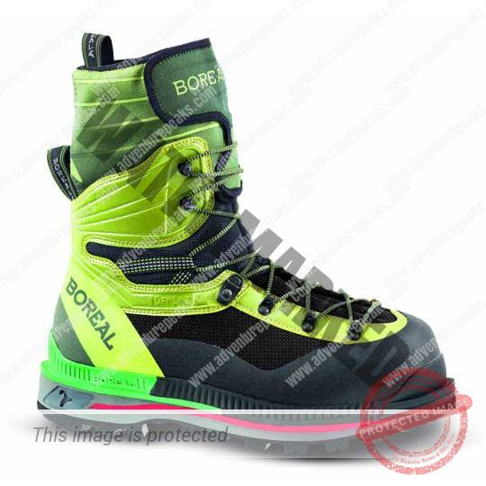 mountaineering boot for 7000m