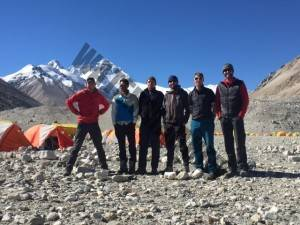 Leaving Everest Base Camp for the final time...hopefully