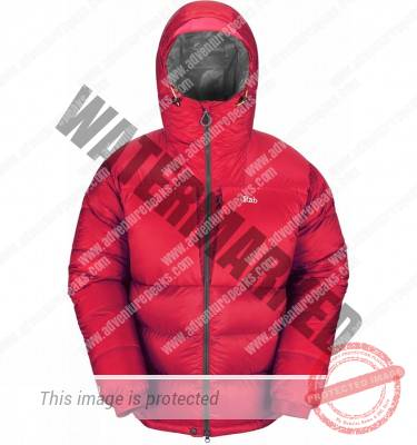 andes jacket red