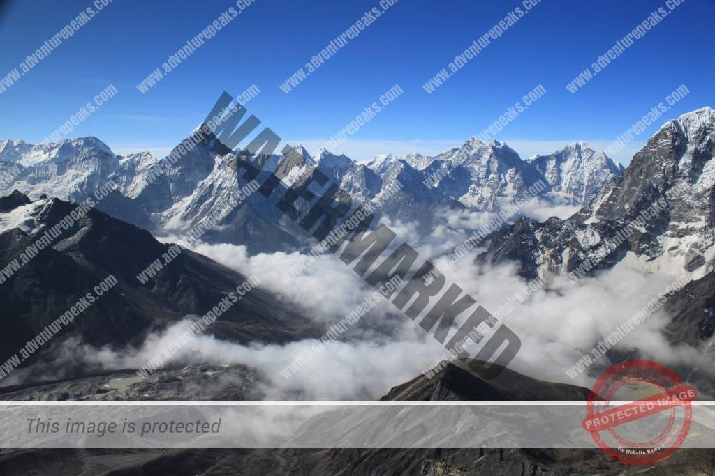 View from Lobuche Alice Chivers