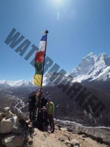 Acclimatising Above Dinboche