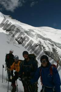 Niels, Rob, Troels & Christian at 5500m on acclimatisation day.
