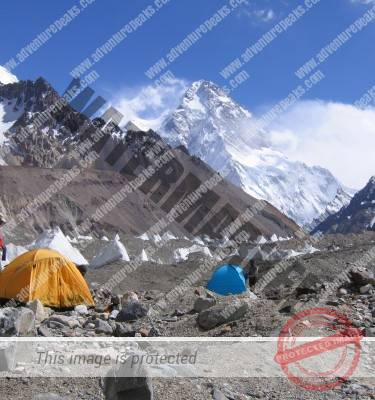 K2 North Base Camp