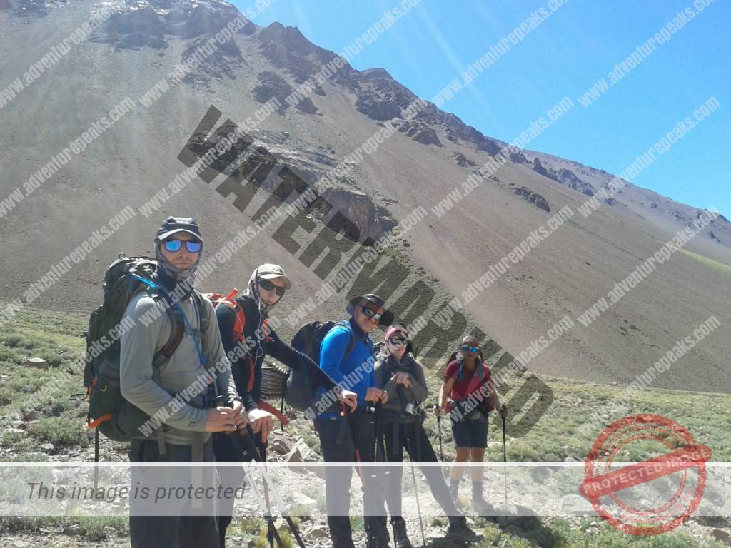 Approach to Aconcagua