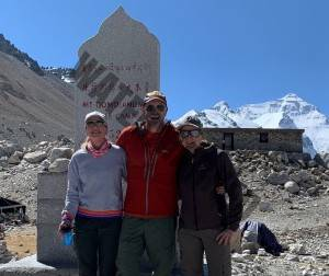 Nick Kirsty And Paula at Everest BC