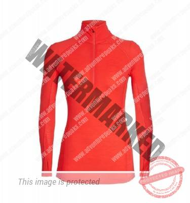 Icebreaker Womens 150 Zone Long Sleeve Half Zip