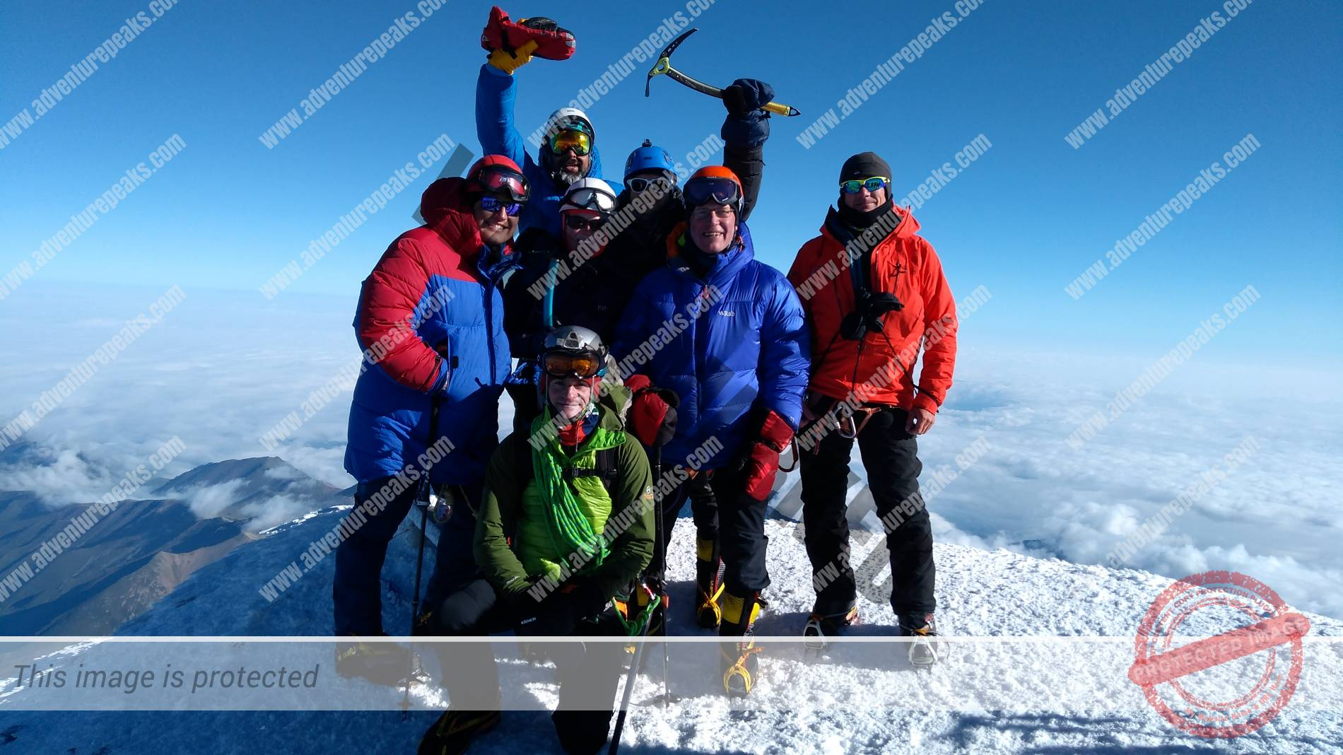 July 2019 Paul McCaffrey Elbrus South Summit day