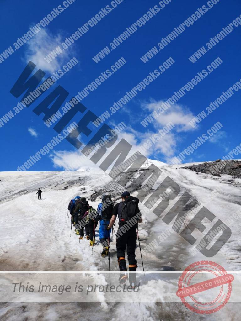 12 acclimitisation on Elbrus