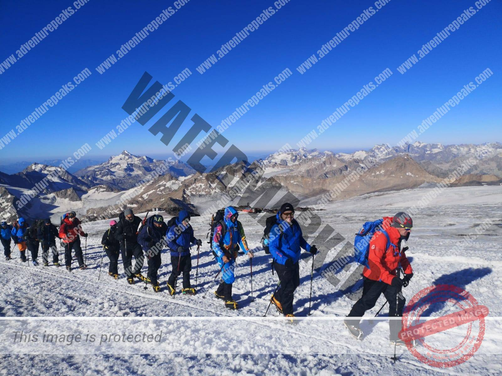 4 acclimitisation on Elbrus