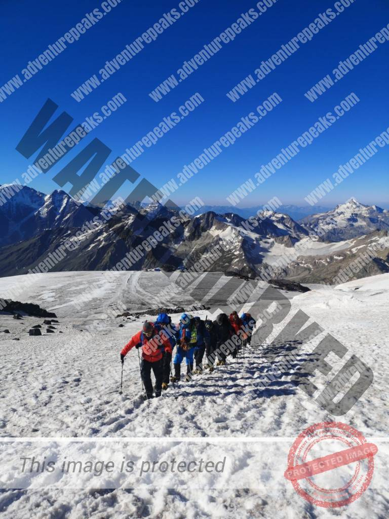 6 acclimitisation on Elbrus