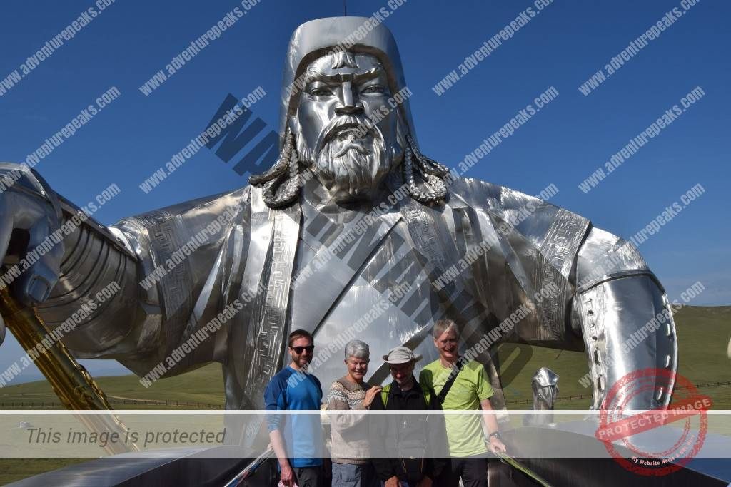 22. On the horse of Chinggis Khan
