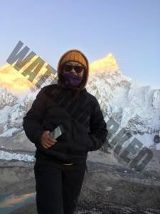 Tsering on Kala Patthar
