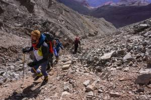 Aconcagua Route to Camp 1