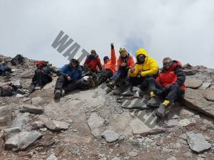 Adventure Peaks 19th Dec 19 Team on the Summit of Aconcagua