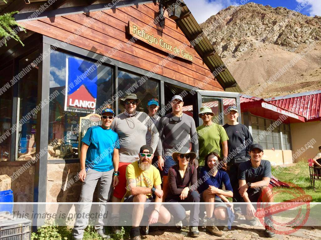 Adventure Peaks 28th Dec 19 Team at Penitentes