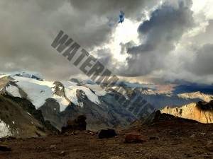 Dramatic Views From Aconcagua