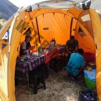 Our Mess Tent