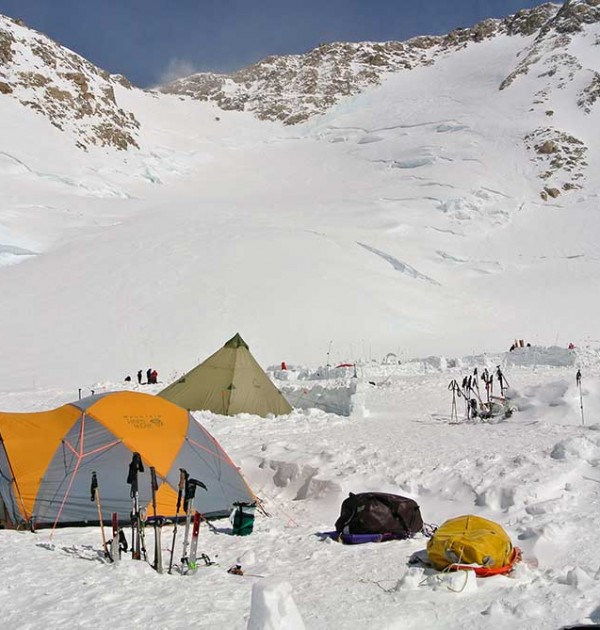 14200-foot-Camp-3-with-Headwall-and-fixed-lines-in-background