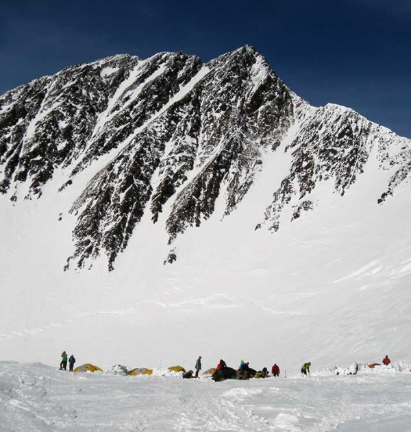 High-camp-at-17200-feet-with-north-summit-almost-in-background