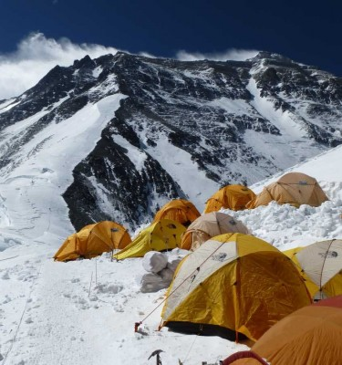everest north col camp