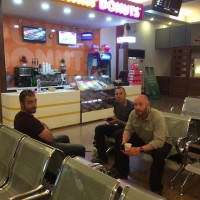 _Jean,-Pete-&-Paul-enjoying-Islamabad-domestic-airport